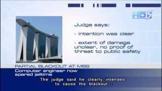 Engineer who caused blackout at MBS avoids jail - 25Jul2013