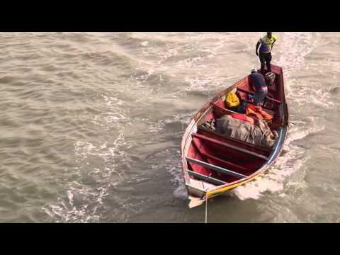 Guinée Bissau Arrimage en haute mer / Guinea Bissau offshore Stowage