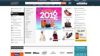 Hướng dẫn mua hàng trên Lazada, Mua hàng online trên Lazada