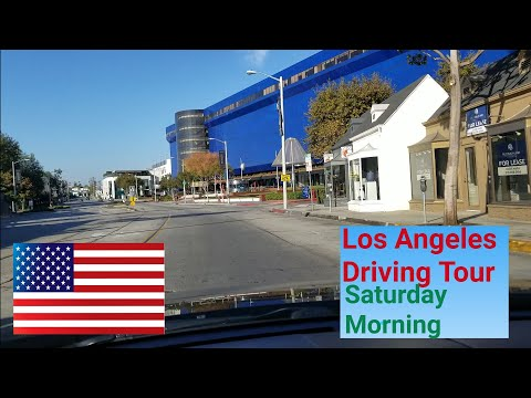 Los Angeles Driving Tour: Saturday Morning in LA.
