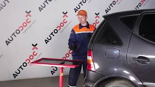 front and rear Wiper Blades fitting MERCEDES-BENZ A-CLASS (W168): free video