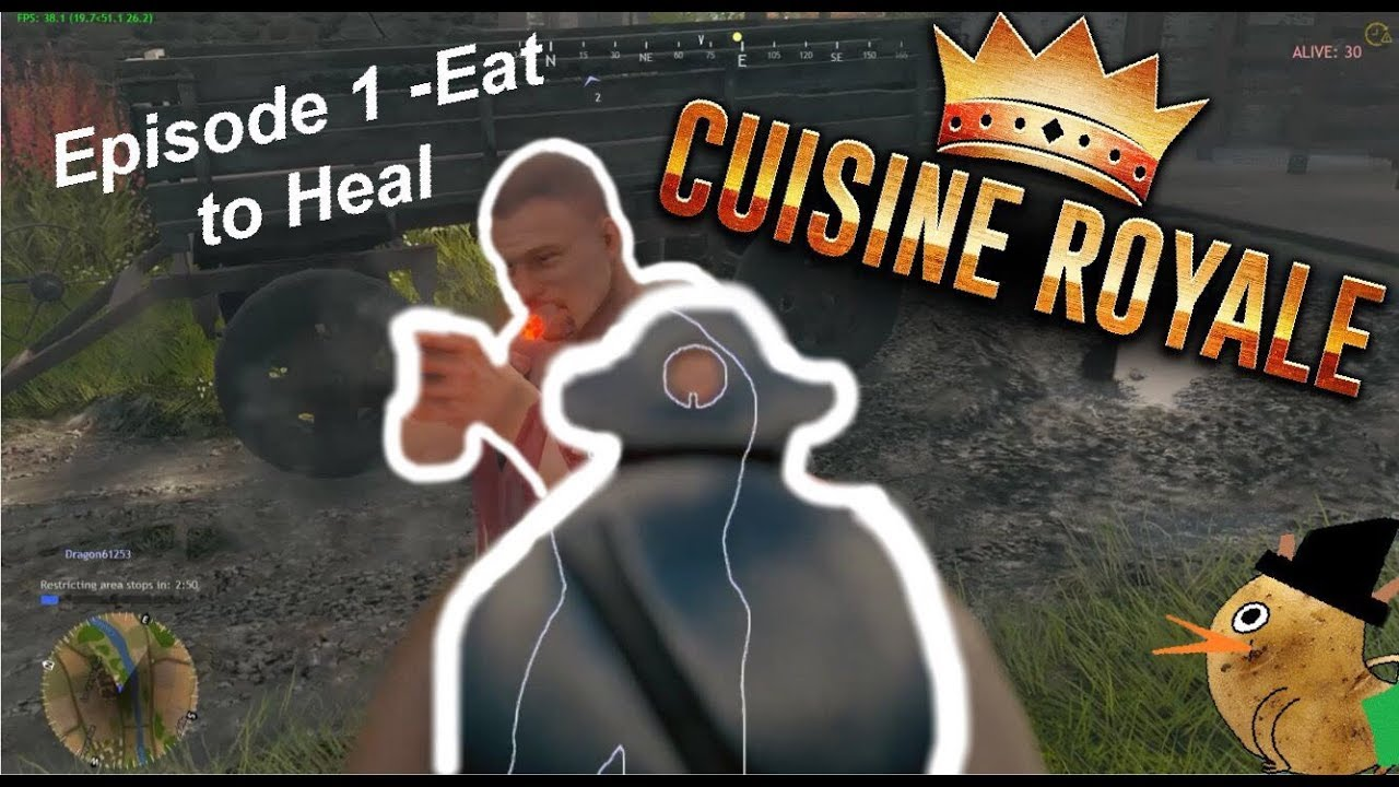 Cuisine Royale Eat Cuisine Royale Ep 1 Eat To Heal Multiplayer Funny Moments
