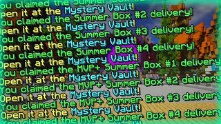 LOOT FROM 20 SUMMER BOXES!! [Hypixel]