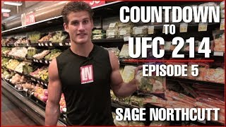 Super Sage Northcutt Upper Body Workout and Nutrition (UFC 214)
