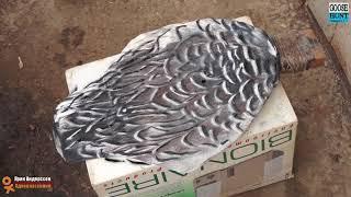 Як зробити 3D ефект пера на гусячих чучалах D. I. Y. 3D effect goose decoy painting
