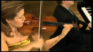 Gambar cover Mozart, Violinsonate A Dur KV 305   Anne Sophie Mutter Violine), Lambert Orkis (Klavier)