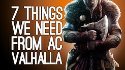 Assassin's Creed Valhalla TRAILER REACTION: 7 Things We Need From Assassin's Creed with Vikings