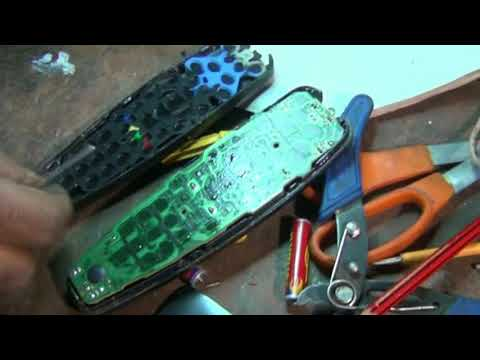 VU LED TV and Tata Sky HD Remote Control : How to Open and repair Non Working Buttons