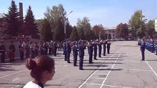 ХВАУС 75  2012 09 15 Оркестр на плацу