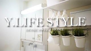 【洗面所】白にこだわった鏡裏収納 thumbnail