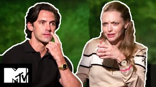 Amanda Seyfried & Milo Ventimiglia On Awkward Kissing Scenes | The Art of Racing in the Rain