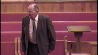 """Cletus Nesmith"" Part (3/3) Mount Carmel Baptist Church, Fort Payne Alabama"