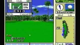 True Golf Classics: Waialae Country Club - SNES Gameplay
