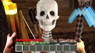 РЕАЛИСТИЧНЫЙ МАЙНКРАФТ В РЕАЛЬНОЙ ЖИЗНИ Выживание в Майнкрафте Realistic Minecraft In Real Life