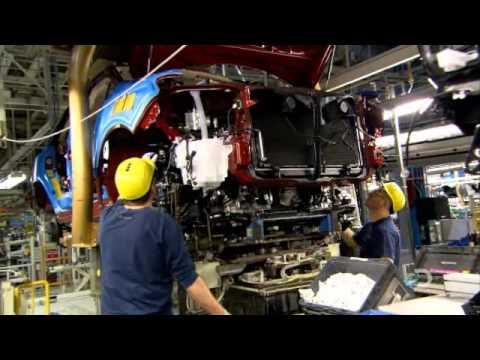 LEXUS RX of factory in Cambridge