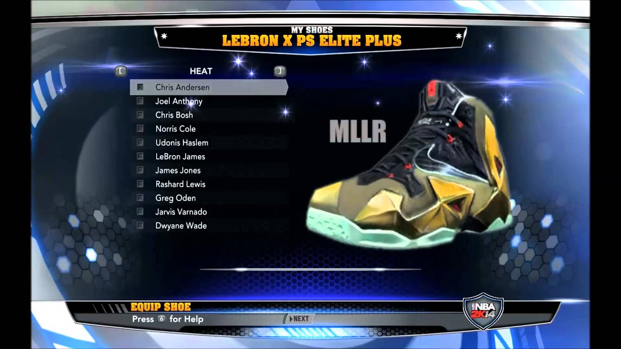 NBA 2K14 PC - How to install new shoes - ft. Nike Lebron XI - YouTube 39c389535