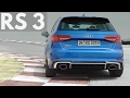 2017 Audi RS 3 Sportback - New Engine 400 hp, 0 to 100 km/h (62.1 mph) in 4.1 seconds