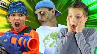 Nerf Battle:  Zombie Invasion Rewind (Twin Toys)