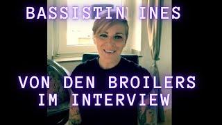 Mädels an die Bässe - Interview mit Bassistin Ines von den Broilers