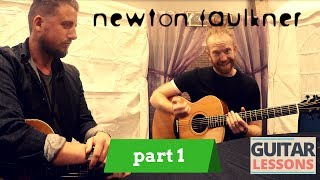 Newton Faulkner   Guitar Lesson   Part 1