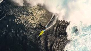 Drone over Jaws 1/22/15 Surfing in 4k