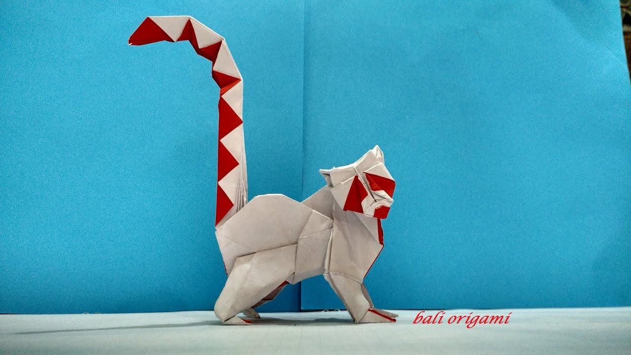 Origami Lemur (Roman Diaz) Part 1 - YouTube - photo#27