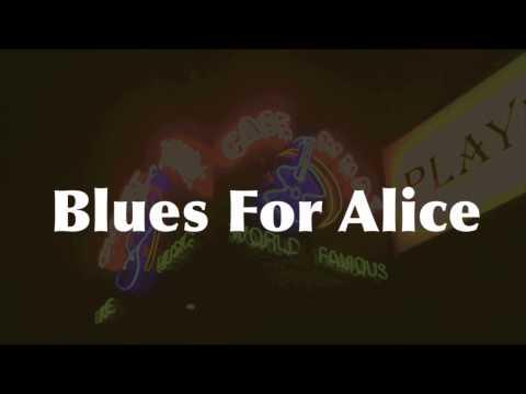 Blues For Alice - Medium Swing Jazz Backing Track (F)