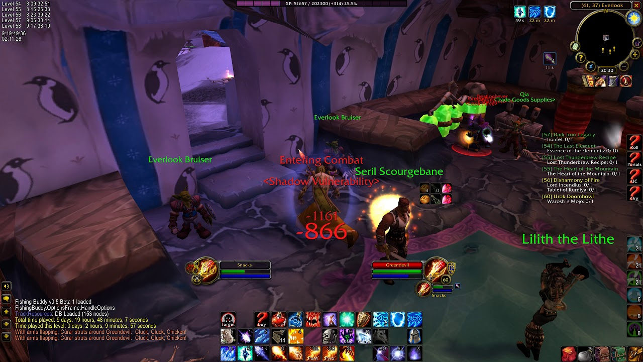 World Of Warcraft Classic Everlook Exploit When Interacting With