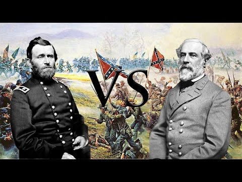 Generali a confronto con KillerPrince - Ulysses Grant vs Robert Lee