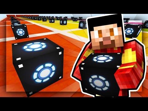 Minecraft IRON MAN LUCKY BLOCKS RACE