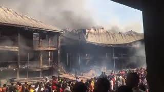 Tanker explosion destroys six buildings, shops in Onitsha
