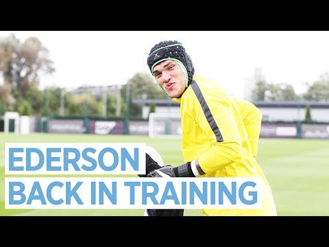 EDERSON IS BACK! 💪🏻 | Man City Training