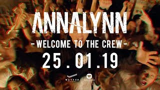 annalynn-welcome-to-the-crew【official-teaser】