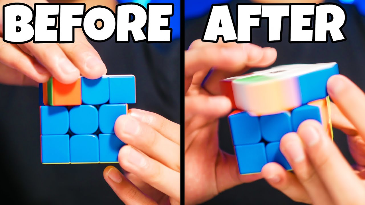 THE EASIEST WAY TO GET FASTER AT CUBING