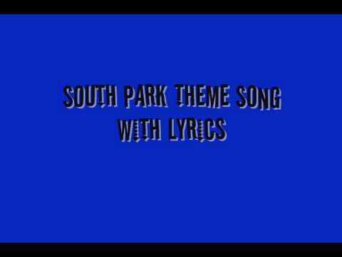 South Park Theme (Lyrics)