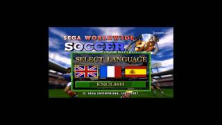Sega Worldwide Soccer 98 Club Edition - Gameplay (Portugal x Austria): Sega Saturn