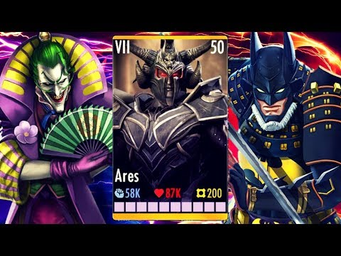 Why Is Ares So GOOD? Injustice Gods Among Us 3.2! IOS/Android!