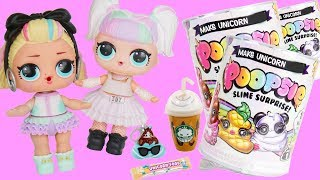 Does It Work ? Slime Scented Unicorn LOL Surprise Dolls Craft Kit