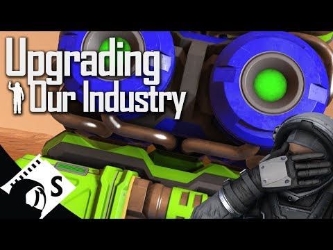 Space Engineers Tutorial: Upgrades, Refineries & Assemblers