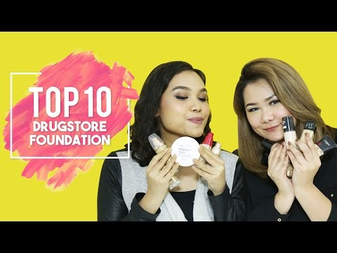 Top 10  Drugstore Foundation