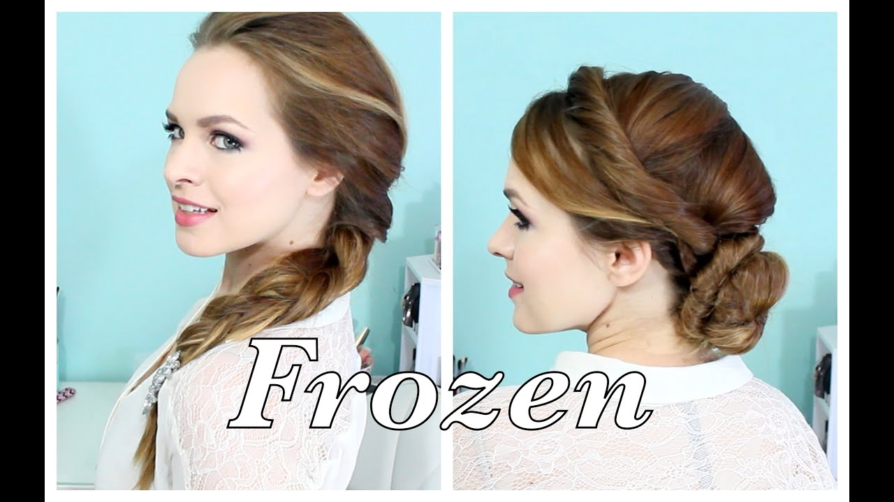 Elsa's Hairstyles From FROZEN! YouTube