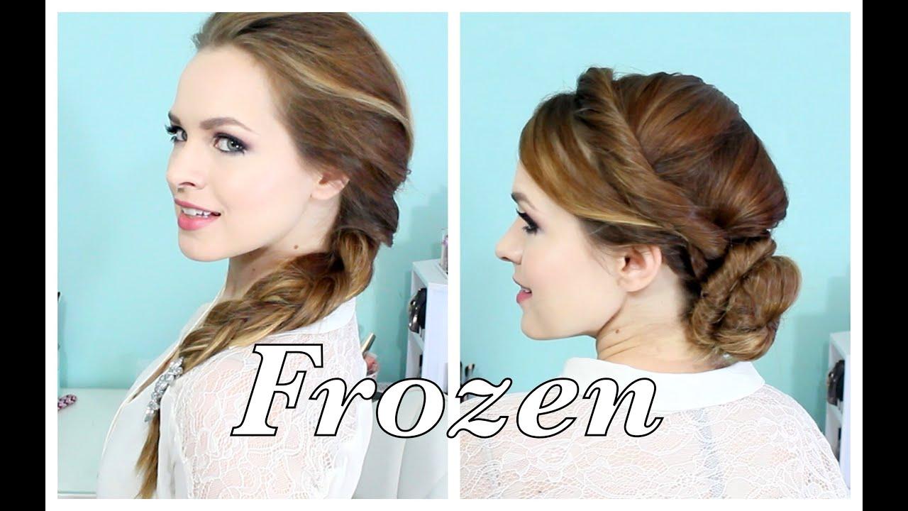 elsa's hairstyles frozen