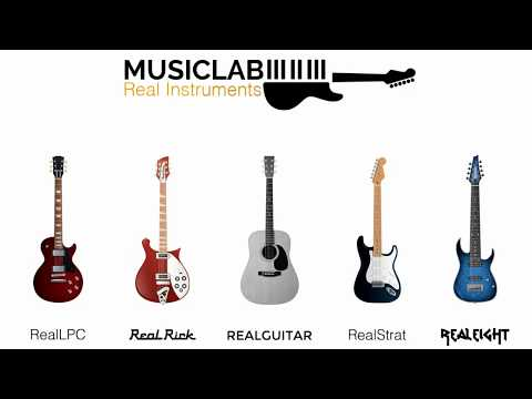 1 Lick 5 Guitars | MusicLab Real Instruments