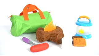 New Sprouts Campout! My Very Own Camping Set From Learning Resources