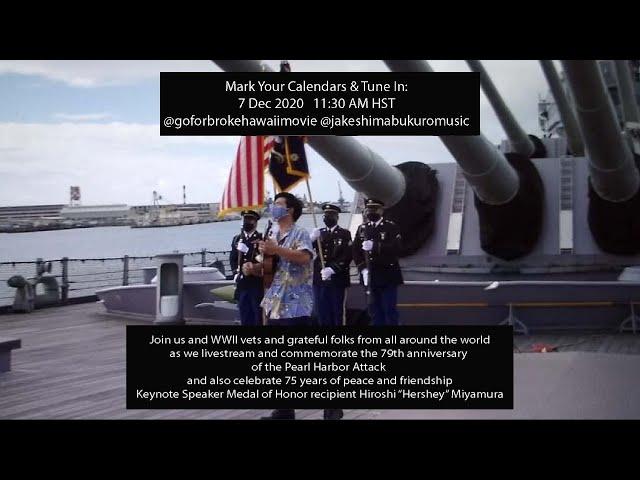 Commemorate the 79th anniversary of the Pearl Harbor attack