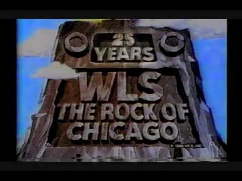 WLS Radio 25th Anniversary TV Show Ch-7 Chicago 1985