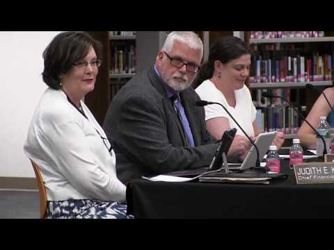 Board of Education meeting - July 12 2017