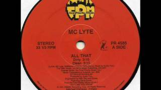 Watch Mc Lyte All That video