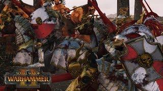 REIKSGUARD RIDE - Empire vs Beastmen // Total War: Warhammer II Online Battle