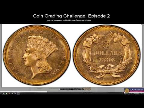 Coin Grading Challenge - Episode 2:  Chain Cent, Morgan & Trade Dollars and Commemorative Halves